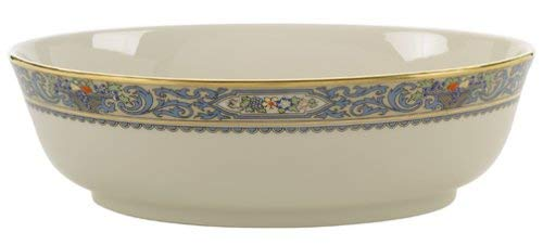 Lenox Autumn Gold-Banded Fine China Open Vegetable Bowl