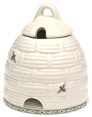 Pfaltzgraff Naturewood Sculpted Stoneware Honey Pot