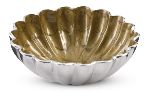 Julia Knight Peony Round Bowl, 6-Inch, Toffee, Brown
