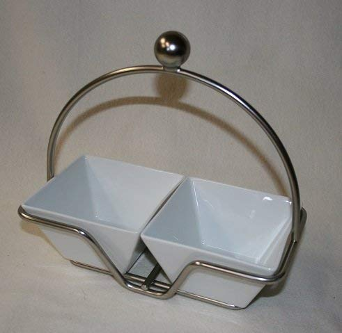 Pampered Chef Simple Additions: Small Bowl Caddy with 2 Small Bowls