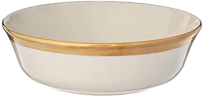 Lenox Lowell Gold Banded Ivory China All Purpose Bowl