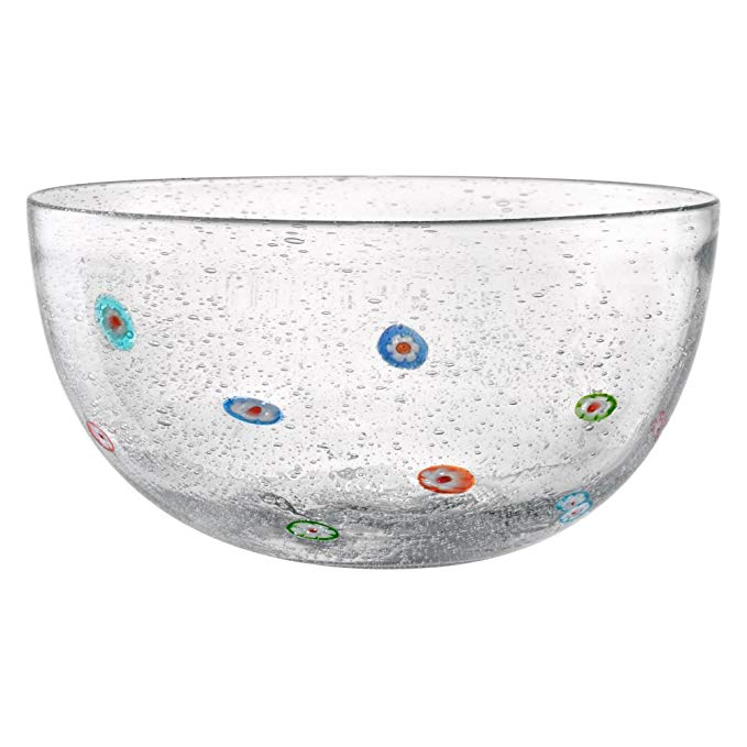 Artland Inc. 10 in. Fiore Glass Serving Bowl