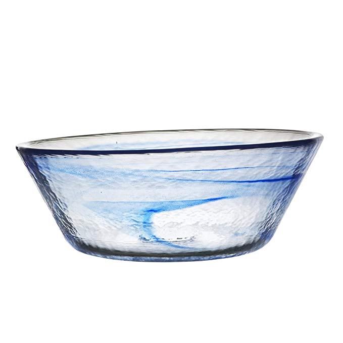 Kosta Boda Mine Bowl, Large, Blue