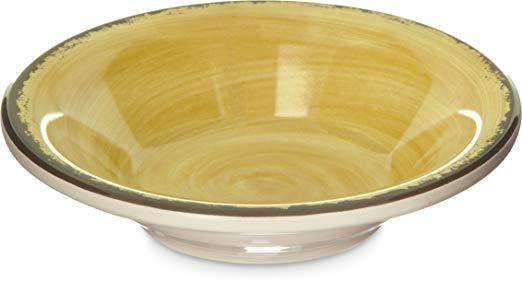 Carlisle 5401813 Mingle Melamine Fruit Bowl, 4.5 oz, Amber