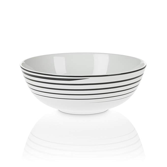 Mikasa Cheers Spiral Vegetable Bowl, 9-Ounce