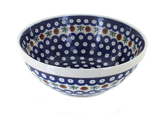 Polish Pottery Nature Medium Serving Bowl