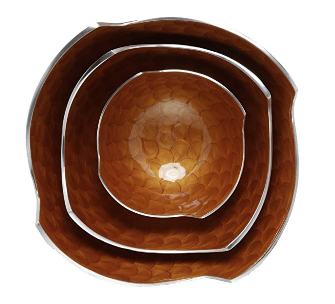 Artisan d'Orient Square Bowl Set, Sizes - 6