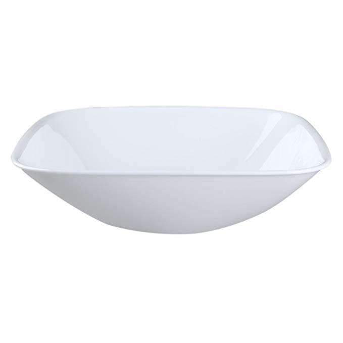 Corelle Coordinates Square Pure White 1.5 Quart Serving Bowl (Set of 4)