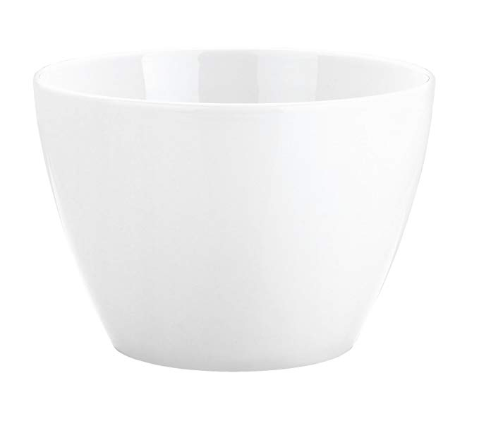 Pillivuyt Eden 4-1/2 Quart Large Porcelain Salad Bowl