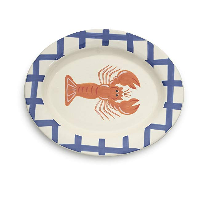 Woodard & Charles Lobster Serving Platter Dish, 15-Inch