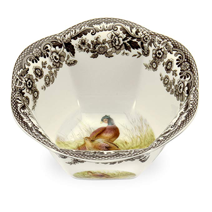 Spode Woodland Nut Bowl with Pheasant